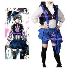 Black Butler Kuroshitsuji Ciel version 1 cosplay costume