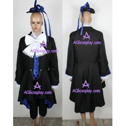 Kuroshitsuji Ciel Phantomhive black cosplay costume