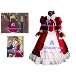 Black Butler Kuroshitsuji Gothic Loltia Cosplay Costume