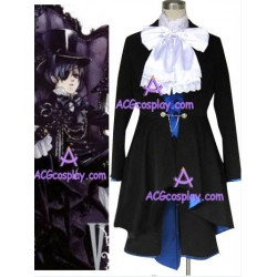 Black butler Ciel Phantomhive black cosplay costume