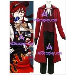 Kuroshitsuji Black Butler Gureru Sutcliffe Halloween cosplay costume