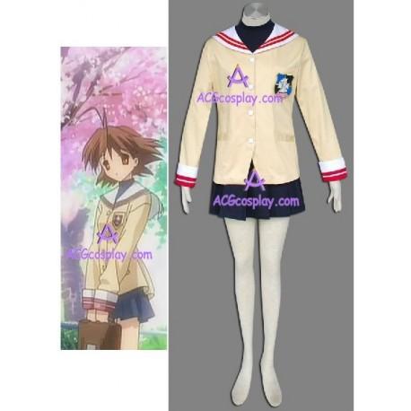 Clannad Clannad school girl uniform cosplay costume