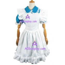 Alice's Adventures In Wonderland Alice Cosplay Costume