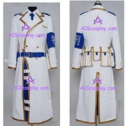Dolls cosplay white military unifrom cosplay costume