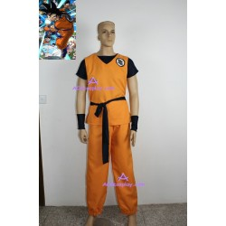 Dragon Ball Z GOKU cosplay costume include shoe cover