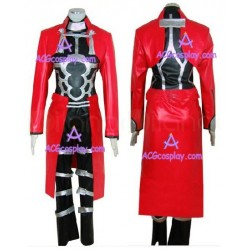 Fate stay night Archer puleather made cosplay costume