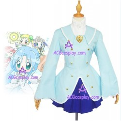 Fushigi boshi No Futago Hime Gyu Fine blue cosplay costume