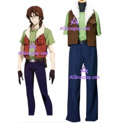 Gundam Mobile Suit Gundam 00 Lockon Stratos cosplay costume
