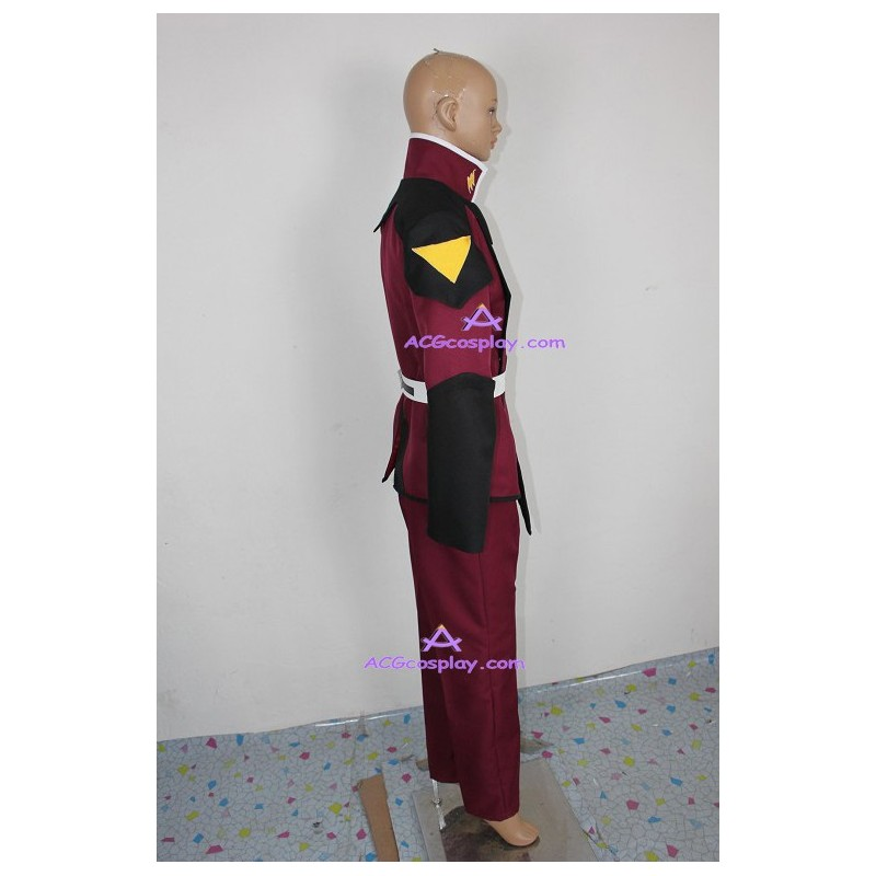 Gundam Seed Athrun Zala Uniform Cosplay Costume