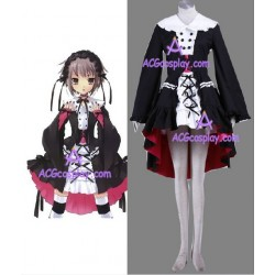 Melancholy of Haruhi Suzumiya Nagato Yuki lolita cosplay costume