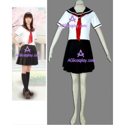 Hell Girl Ai Enma Jigoku Shoujo summer school uniform Cosplay Costume