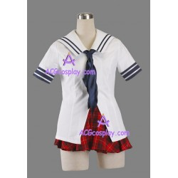 Ikki Tousen girl uniform cosplay costume