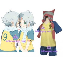 Inazuma Eleven Shiro Fubuki cosplay costume