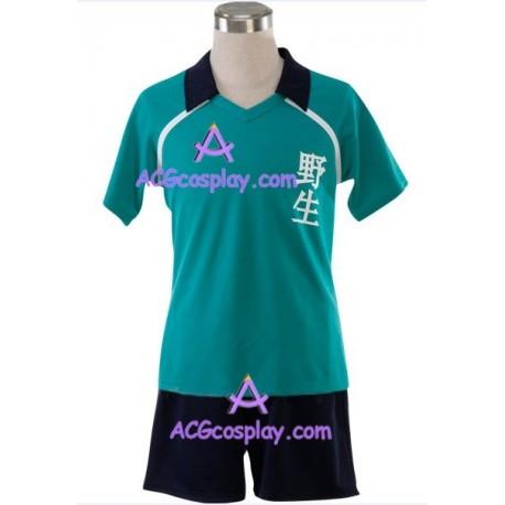 Inazuma Eleven Yasei School Soccer Uniform Cosplay Costume