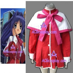 Kanon pink bow version girl school unifrom cosplay costume