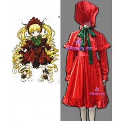 Rozen Maiden Shinku Pure Ruby cosplay costume velvet made