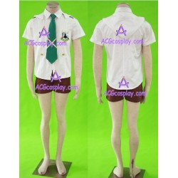 Macross Frontier Luca Mihoshi Academy Cosplay Costume