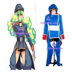 Macross Frontier Sheryl Nome military cosplay costume