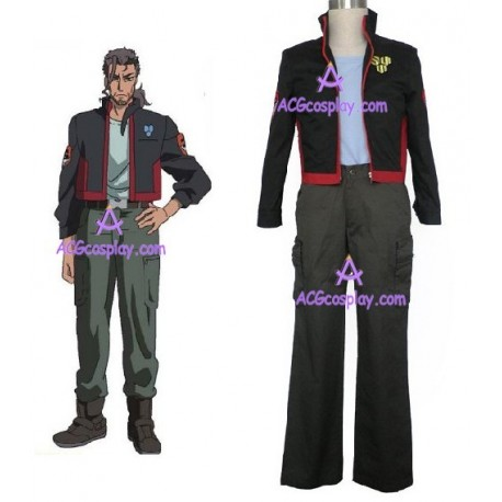 Macross Frontier SMS Skull Squadron cosplay costume