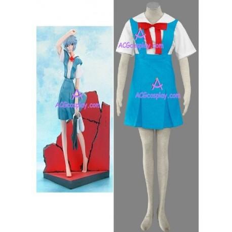 Neon Genesis Evangelion Rei Ayanami cosplay costume