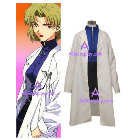 Neon Genesis Ritsuko Akagi Cosplay Costume