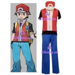 Pokemon Ash Ketchum Halloween Cosplay Costume