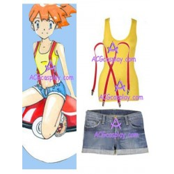 Pokemon Misty Cosplay Costume