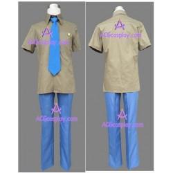 Primo Passo Seiso School Boy Uniform summer cosplay costume