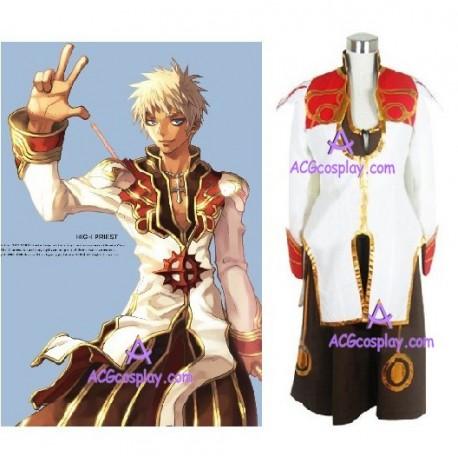 Ragnarok Online High Priest Cosplay Costume
