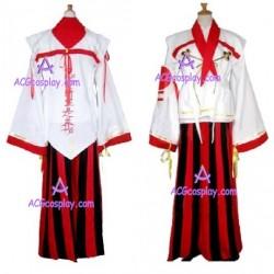 Sengoku Basara 2 Chosokabe Arslan Cosplay Costume