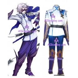 Sengoku Basara 2 Takenaka Hanbei Cosplay Costume