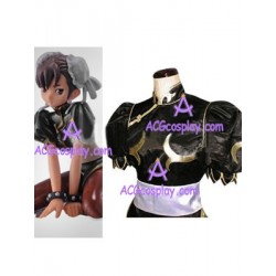 Street Fighter Chun Li Black Cosplay Costume