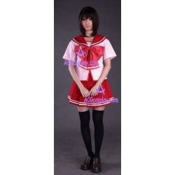 To heart 2 girl summer school uniform cosplay costume