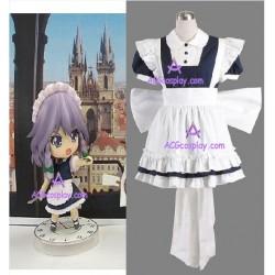 Touhou Project  Izayoi Sakuya Maid cosplay costume