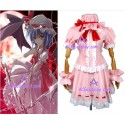 Touhou Project Remilia Scarlet cosplay costume