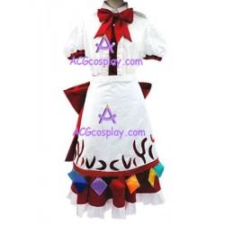 Touhou Project Tenshi Hinanai Cosplay Costume