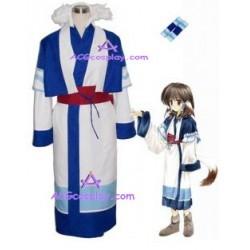 Utawarerumono Aruru Cosplay Costume