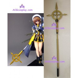 Magical Girl Lyrical Nanoha Hayate Yagami Wand cosplay props