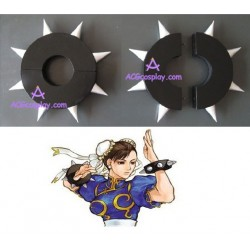 Street Fighter Chun Li bracelet cosplay props