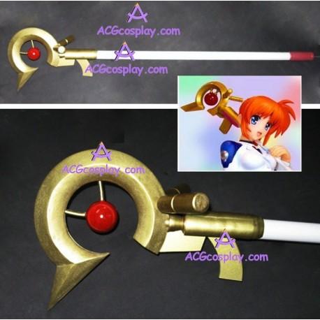 Magical Girl Lyrical Nanoha Nanoha Takamachi Magic Wand I Raising Heart cosplay props