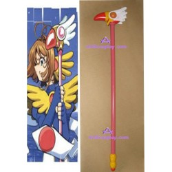 Card Captor Sakura sakura bird Wand wood made cosplay props
