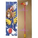 Card Captor Sakura sakura bird Wand wood made cosplay props