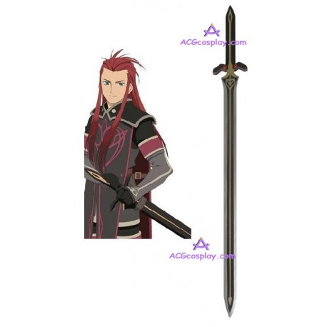 Tales of the abyss Asch sword wood made cosplay props