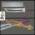Bleach Anime Arrancar Espada Halibel Sword cosplay props