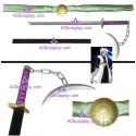 Bleach Tia Halibel Teiburon Sword blade cosplay props