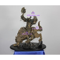 WOW World of WarCraft Blizzard Resin Figure Orcish Wolf Rider