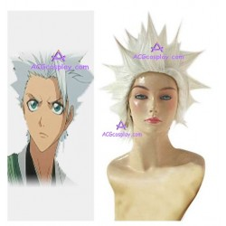 Bleach 10th Division Captain Toushiro Hitsugaya cosplay wig