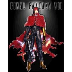 Final Fantasy VII 7 Vincent Valentine cosplay wig