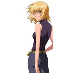 Gundam Mobile Suit Gundam SEED Destiny Cagalli Yula Athha Cosplay wig