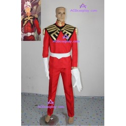 Gundam Seed Char Aznable Uniform Cosplay Costume